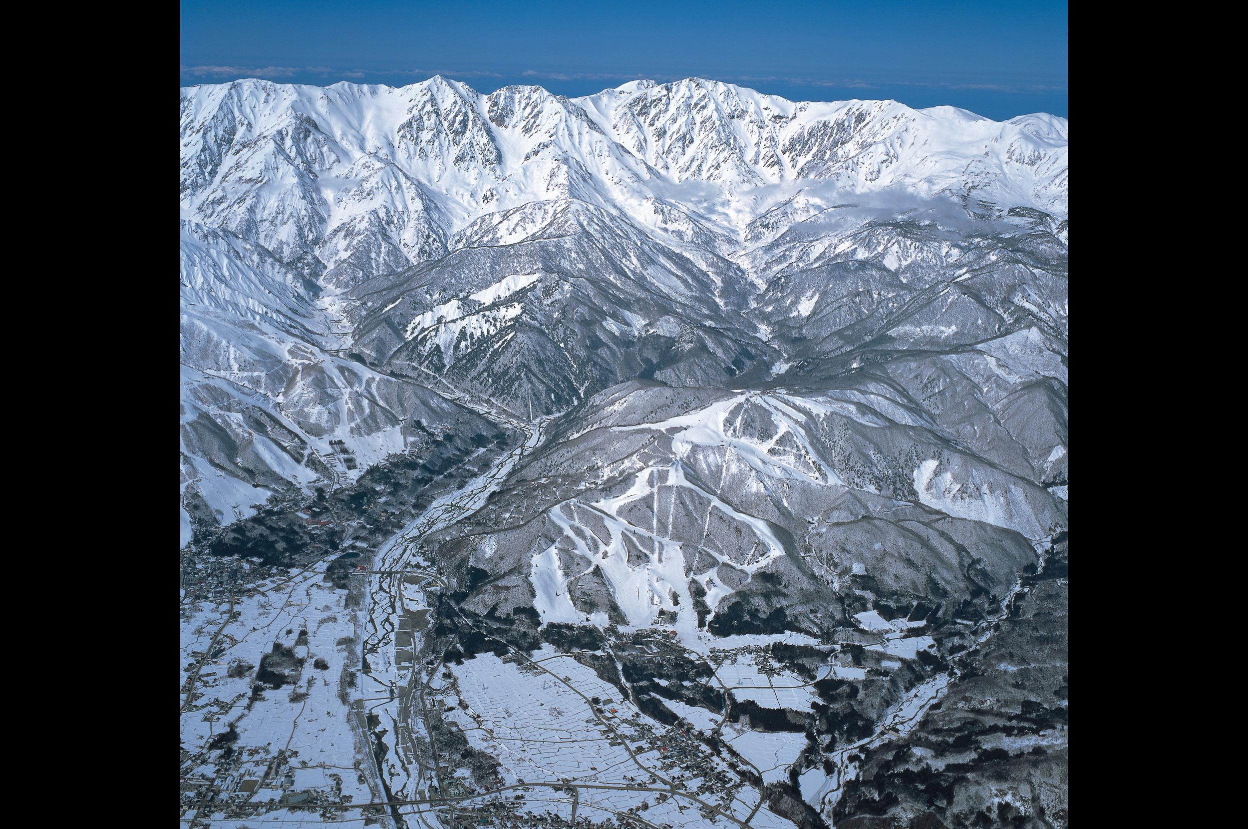 鳥瞰写真(冬)